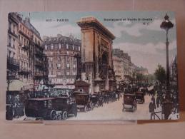 D 75. N° 617- PARIS - Boulevard Et Porte St Denis .1915. - France