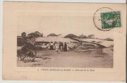 Vieux-Boucau-les-Bains. Descente De La Dune. - Vieux Boucau