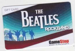 THE BEATLES ROCKBAND - GIFT CARD USA  - GAMESTOP   -  NO VALUE - Gift Cards
