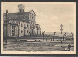 4964-LIVORNO-PIAZZA S.JACOPO-CHIESA-1936-FG - Livorno