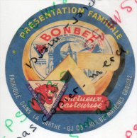 étiquette De Froamge - BONBEL Présentation Familiale (production De La Vache Qui Rit) - Fromage