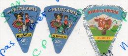 étiquette De Froamge Fondu - Les Petits Amis + Neige De Savoie - Fromage