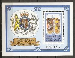 FAMILIAS REALES - GRENADA 1977 - Yvert #60 - MNH ** - Familias Reales