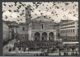 4968-LIVORNO-INAUGURAZIONE DEL DUOMO-ANIMATISSIMA-1954-F G - Livorno
