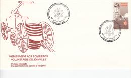 Brazilië, FDC 13.7.1992 (5351) - Sapeurs-Pompiers