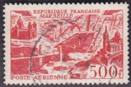 Oblitération Cachet à Date Sur Timbre De France N° PA  27 Vue Stylisée De Marseille - 1927-1959 Used