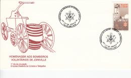 Brazilië, FDC 13.7.1992 (5352) - Sapeurs-Pompiers
