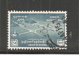 BurMi.Nr.163/ Budda, 2500 Jahre, 1956 - Brunei (1984-...)