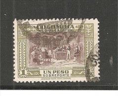 ColMi.Nr.533/ Luftpostmarke , 1948, 1 Peso  O - Kolumbien