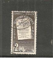 EcuMi.Nr.921/ Drucker Jubiläum 1955  O - Ecuador