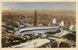 Aviation - Lockheed Constellation - Ligne Air France - 47997 - 1946-....: Moderne