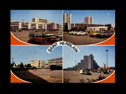 44 - SAINT-HERBLAIN - Ses Nouveaux Quartiers - 1828 - Le Sillon De Bretagne - Caravane - 2cv - Saint Herblain
