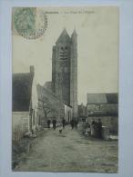 SOURDUN  ( 77 ) LA TOUR DE L'EGLISE  CPA - Otros Municipios