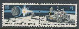 USA 1971 Scott  # 1434-1535 Pair.  Space Achievement Decade Issue, MNH (**) - Neufs