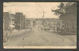 CANADA  KING STREET  , TRAM ,  SHERBROOKE  , OLD POSTCARD, O - Sherbrooke
