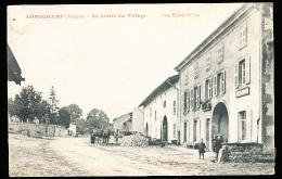 88 LONGCHAMP / Le Centre Du Village / - Autres Communes