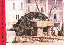 84. Gf. ISLE-SUR-SORGUE. Roue à Aubes. 95305 - L'Isle Sur Sorgue