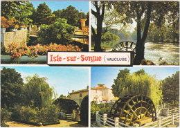 84. Gf. ISLE-SUR-SORGUE. 4 Vues. 95301 - L'Isle Sur Sorgue