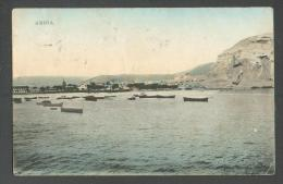 CHILE  ARICA  HARBOR  BOAT  , OLD POSTCARD, O - Unclassified