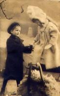 Bambini - 160-3388 - Formato Piccolo Viaggiata Mancante Di Affrancatura - Enfants
