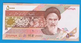 IRAN -  5000 Rials SC  ND  P-143  # Ver Firmas # - Irán