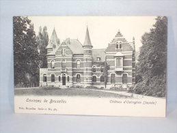 Environs De  Bruxelles. Château D'Oetinghen. Façade. - Gooik
