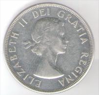 CANADA 50 CENTS 1958 AG - Canada