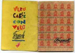 Vademecum Franck Anno 1961 - Advertising
