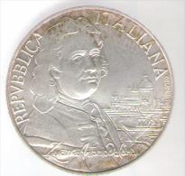 ITALIA 5000 LIRE 1997 AG 300° Anniversario Della Nascita Di Canaletto - Commemorative