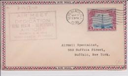 USA - 1930 - POSTE AERIENNE - ENVELOPPE AIRMAIL De VERO BEACH ( FLORIDE )  - AIR MEET AND DEDICATION - - Air Mail