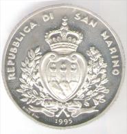 SAN MARINO 10.000 LIRE 1995 AG AMERIGO VESPUCCI - San Marino
