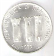 SAN MARINO 500 LIRE 1972 AG - San Marino