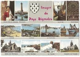 Dépt 29 - IMAGES DU PAYS BIGOUDEN - (CPSM 10.5x15 Cm) - Multi-Vues - France