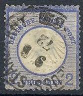 1872, MiNr. 5 Gest.,  Zustand: I-II, (H) - Oblitérés