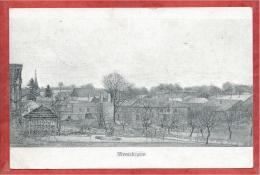 08 - MONTCHEUTIN - Carte Allemande Illustrée  - Guerre 14/18 - Feldpost - France