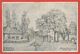 08 - MONTCHEUTIN - Carte Allemande Illustrée  - Russenlager - Guerre 14/18 - Feldpost - France