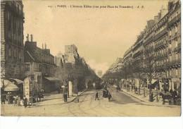 PARIS --Avenue Kléber (Vue Du Trocadéro ) - Arrondissement: 07