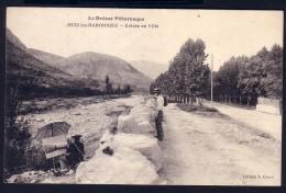BUIS LES BARONNIES - ENTREE EN VILLE - ( PEINTRE) - Buis-les-Baronnies