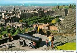 Scotland Postcard - Edinburgh From Edinburgh Castle     LC2125 - Midlothian/ Edinburgh
