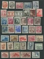 Czechoslovakia  1952 Mi 701-775 MN  (-4 Stamps)+Block 13 MNH CV 281 Euro - Full Years