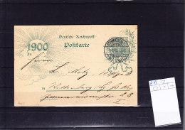 Reich Postal Stat / GA  P43 Gest - Deutschland