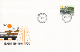Finland, FDC 18.10.1991 (5427) - Sapeurs-Pompiers
