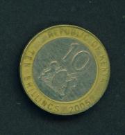 KENYA - 2005 10s Circ. - Kenya
