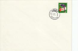 Japan, FDC 1.11.1989 (5433) - Sapeurs-Pompiers