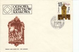 Polen, FDC 8.3.1988 (5439) - Sapeurs-Pompiers