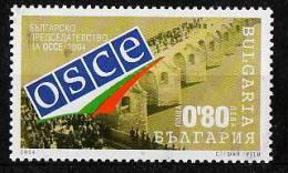 13-651 // 2004  BULGARIEN VORSITZENDER Beim (OSCE) ** - Unused Stamps