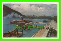 BUDAPEST, HONGRIE - PART OF HARBOUR - TRAVEL IN 1932 - - Hongrie