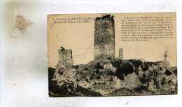 Montluçon  03    Les Ruines Du Chateau De L'Ours - Montlucon