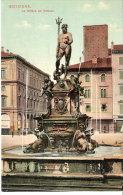 Italie- Bologna (Bologne- Emilia-Romagna)-+/-1910-L A Fontana Del Nettuno (La Fontaine De Neptune)- Ed. A.Pini - Bologna