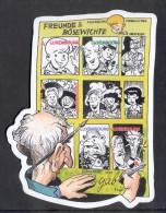 4- 001 LUXEMBOURG 2012. MINIATURE SHEET. THE ADVENTURES OF MIL COMICS. LES AVENTURES DE MIL. - Unused Stamps
